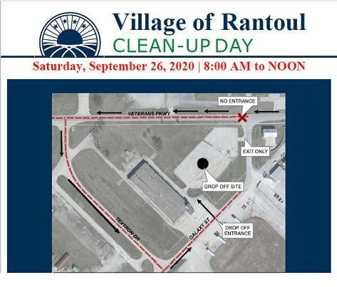 2020 Rantoul Clean Up Day